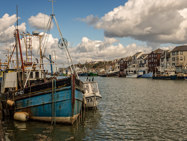 Photo of Destiny - one of the fishing boat in Maryport Harbour