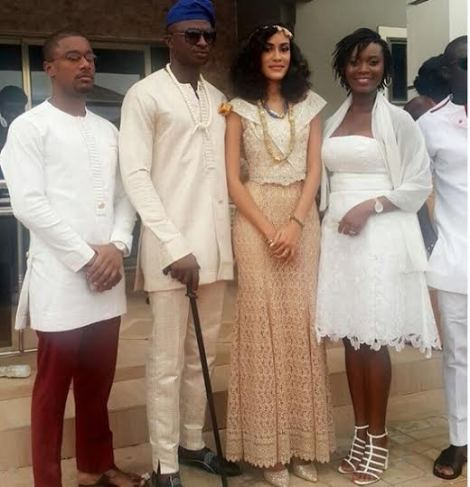 Lovely photos from Sonia Ibrahim's traditional wedding ceremony in Accra, Ghana