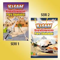 Buku Anak Kisah Kepahlawanan Para Shahabat Seri 1-2