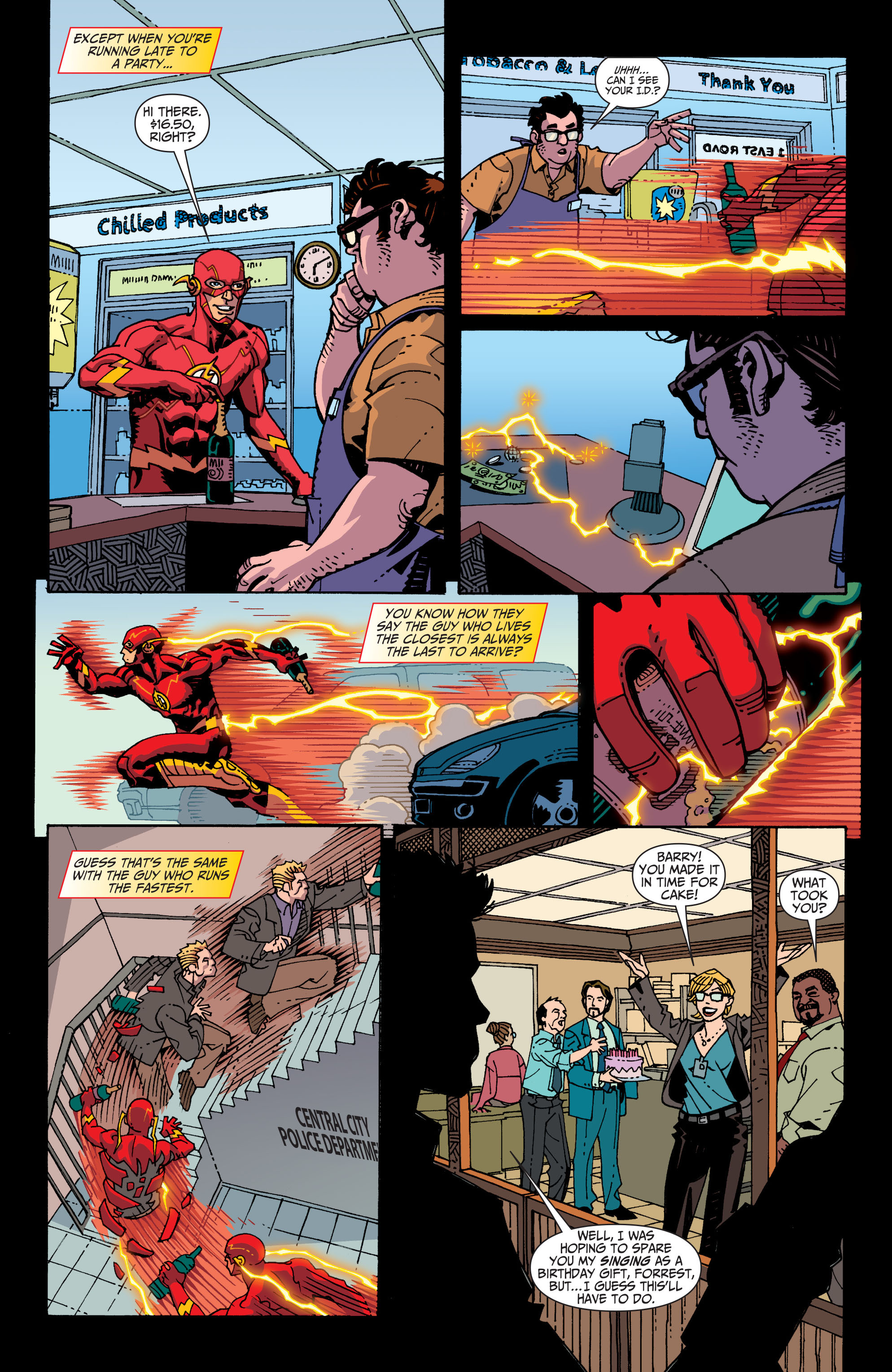 Read online The Flash (2011) comic -  Issue # Annual 2 - 31