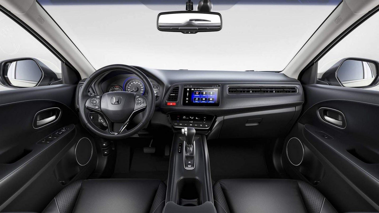 Interior do Honda HRV 2019