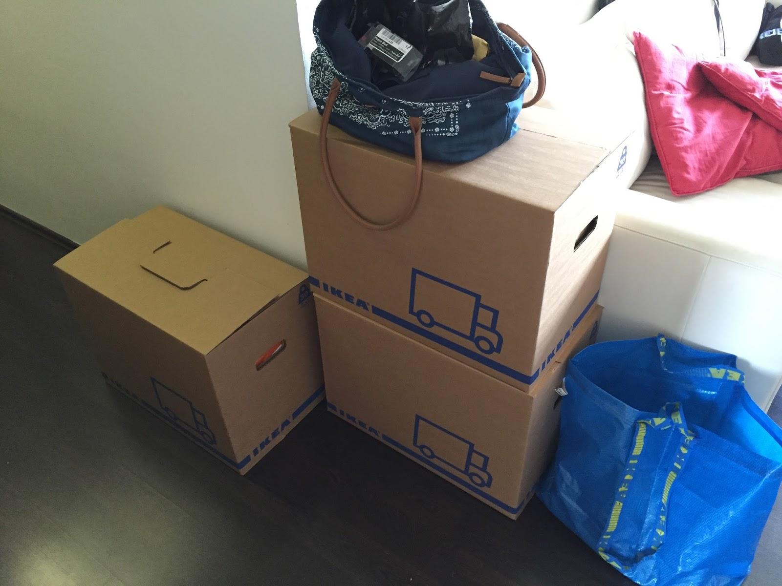 krabice na stěhování ikea