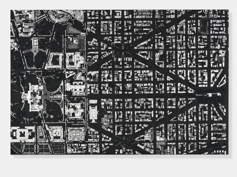 11-Washington-Damien-Hirst-Black-Scalpel-Architectural-Cityscapes-Sculpture-Art-www-designstack-co
