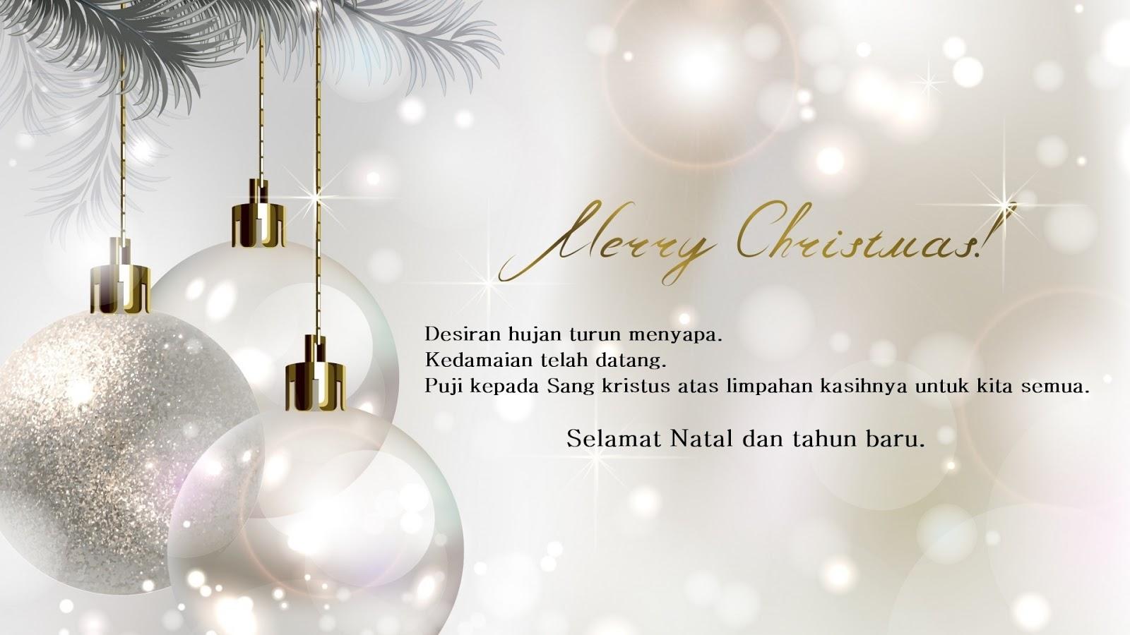 Gambar Kata Selamat Hari Natal Dan Tahun Baru 2020 - Info ...