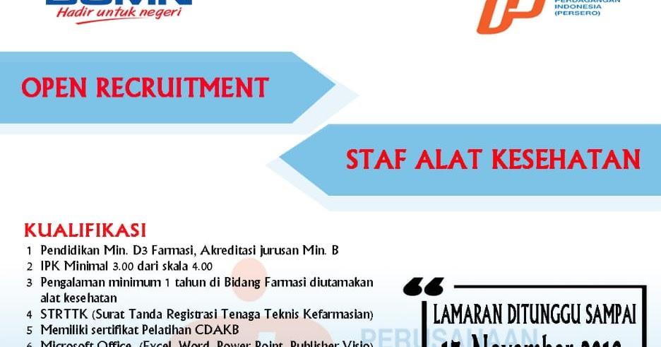 Lowongan Kerja Pt Perusahaan Perdagangan Indonesia Persero Lowongan Kerja Dan Rekrutmen Bulan Mei 2021