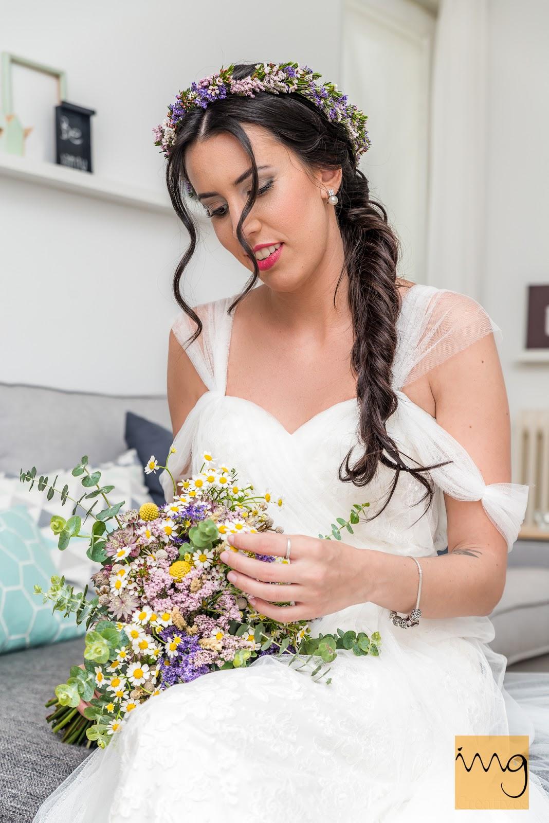Reportaje de boda en los preparativos