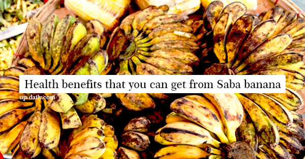 6 Astounding Saba Banana Health Benefits