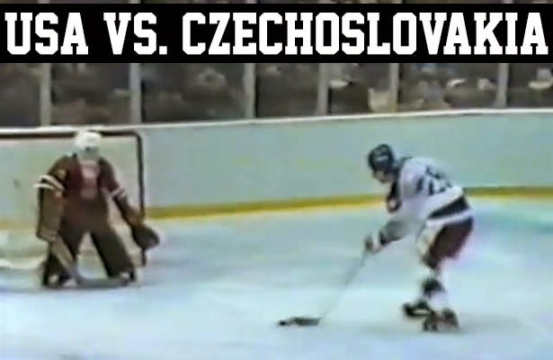 lake placid 1980 olympic hockey miracle on ice team usa vs. czechoslovakia