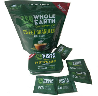 Whole Earth Sweetener cubes and granules