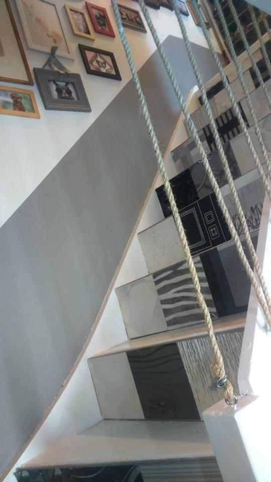 Bien-aimé Un garde corps moderne et discret pour un escalier original | Les  ES67