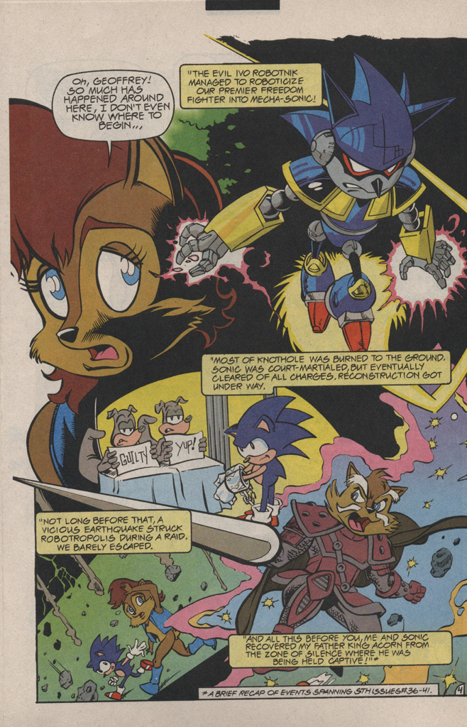 Read online Sonic Quest - The Death Egg Saga comic -  Issue #1 - 8