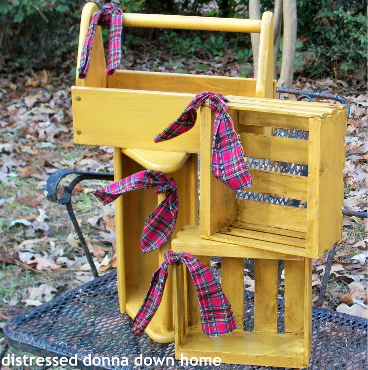 Painting tool caddies and crates