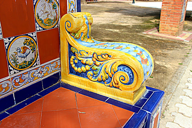 Jardines del Prado. Talavera. Cerámica y azulejos