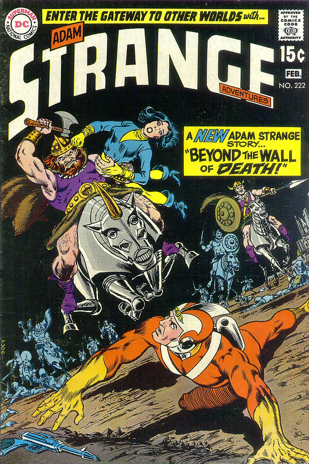 Strange Adventures (1950) issue 222 - Page 1