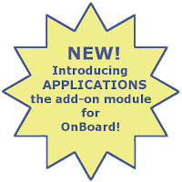 New! Applications add-on module for OnBoard!