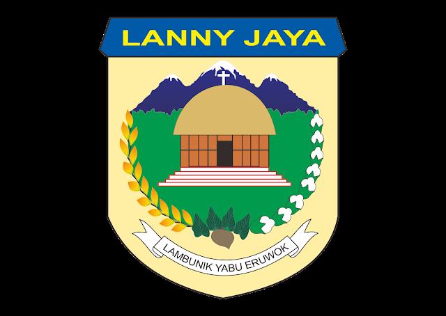 Logo Kabupaten Lanny Jaya Vector