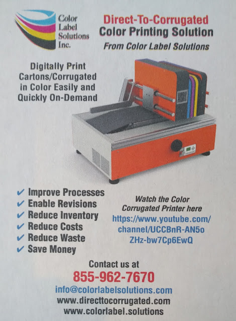 Color Corrugated Printer