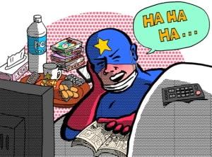 漫画だけが人生でござる