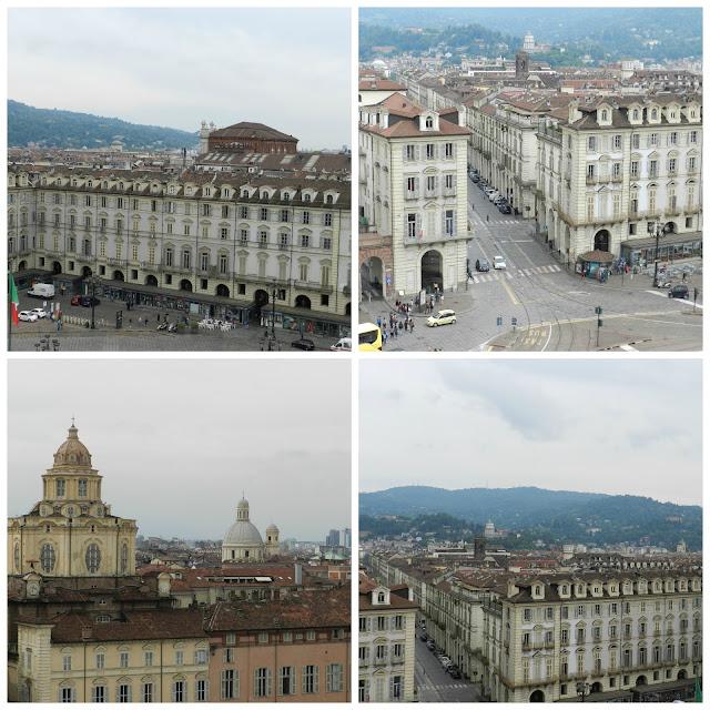 vista do Palazzo Madama - Turim
