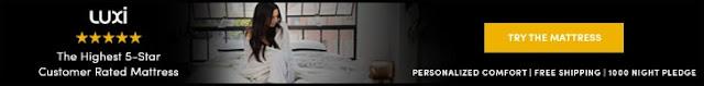 Luxi Sleep Promo Code Banner