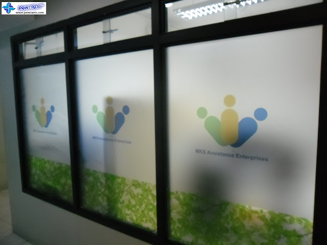 Frosted Glass Stickers - MKS Assistance Enterprises
