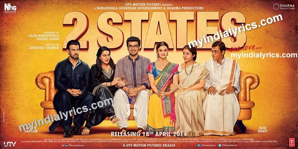 Iski Uski Lyrics - 2 States Movie | Arjun Kapoor