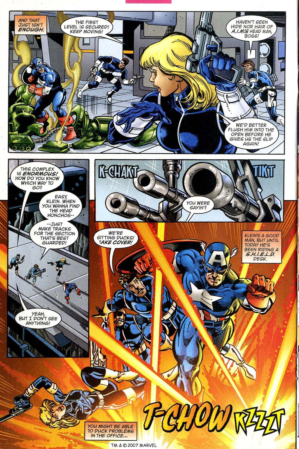 Captain America (1998) Issue #39 #46 - English 20