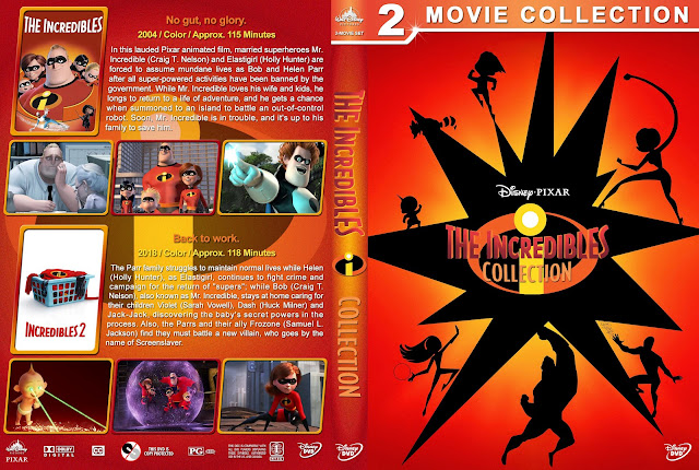 The Incredibles Collection DVD Cover