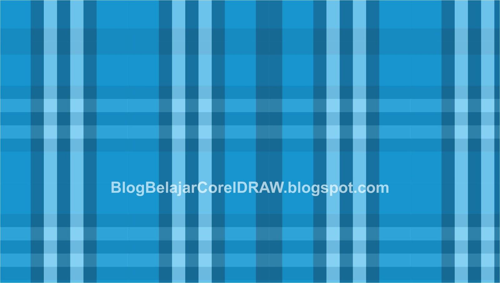 Cara Membuat Background Motif Sarung dengan CorelDRAW