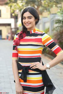 Adha Sharma in a Cute Colorful Jumpsuit Styled By Manasi Aggarwal Promoting movie Commando 2 (78).JPG