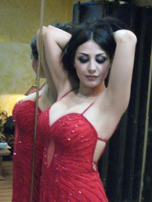Mujeres árabes de belleza desnudas