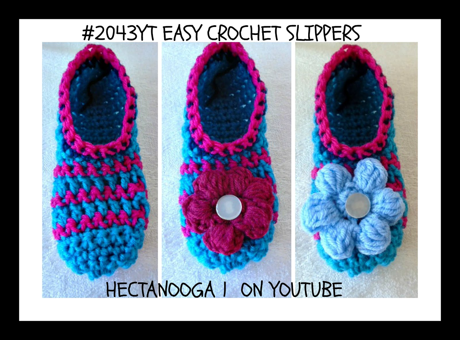 HECTANOOGA PATTERNS: FREE CROCHET PATTERN, #2043yt- Easy Crochet ...