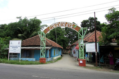 Kampung Batik Tulis Desa Ciwaringin Cirebon Jawa Barat