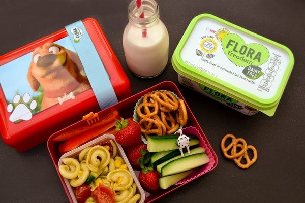 MONDAY MEAL PLAN - vegan kids lunch box