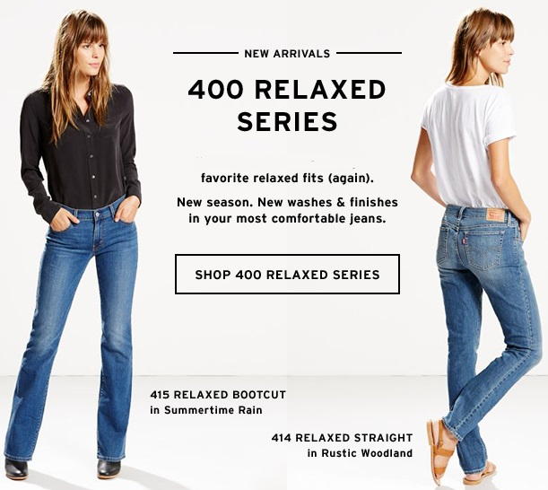 400 Series Relaxed Jeans