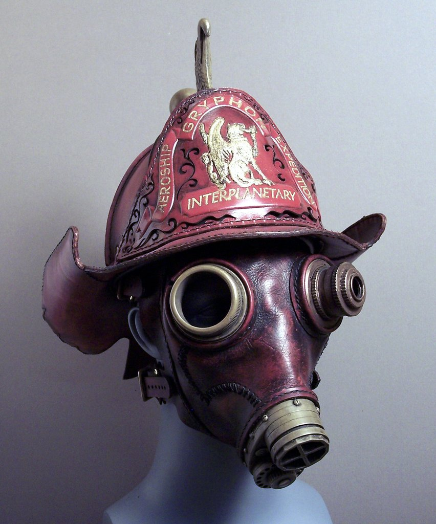 Only Black Wallpaper If It S Hip It S Here Archives Steampunk Gas Masks