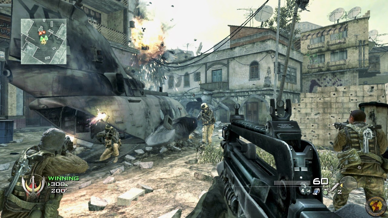 Call of Duty Modern Warfare 4 Highly Compresed 96Mb 100% [[Working