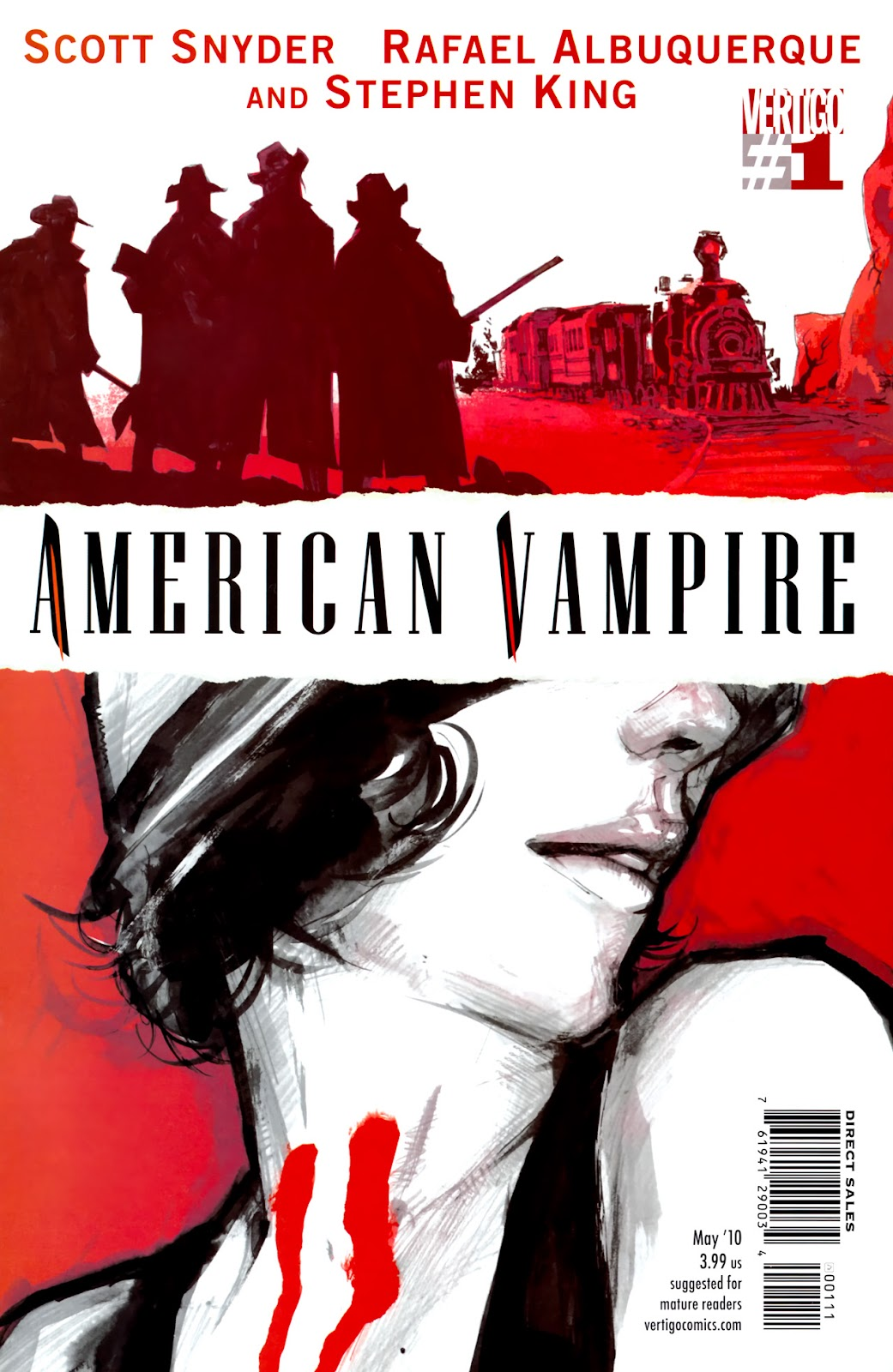 American Vampire issue 1 - Page 1
