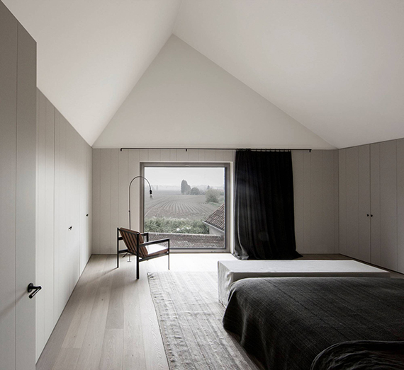 Minimalistic farmhouse in Belgium by Vincent Van Duysen