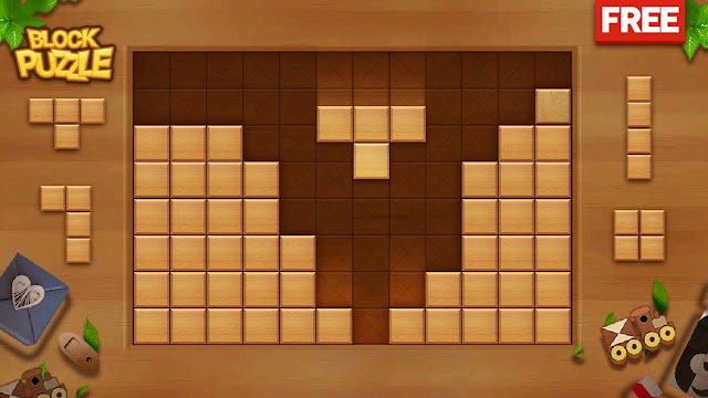 Game Block Puzzle - Wood Legend