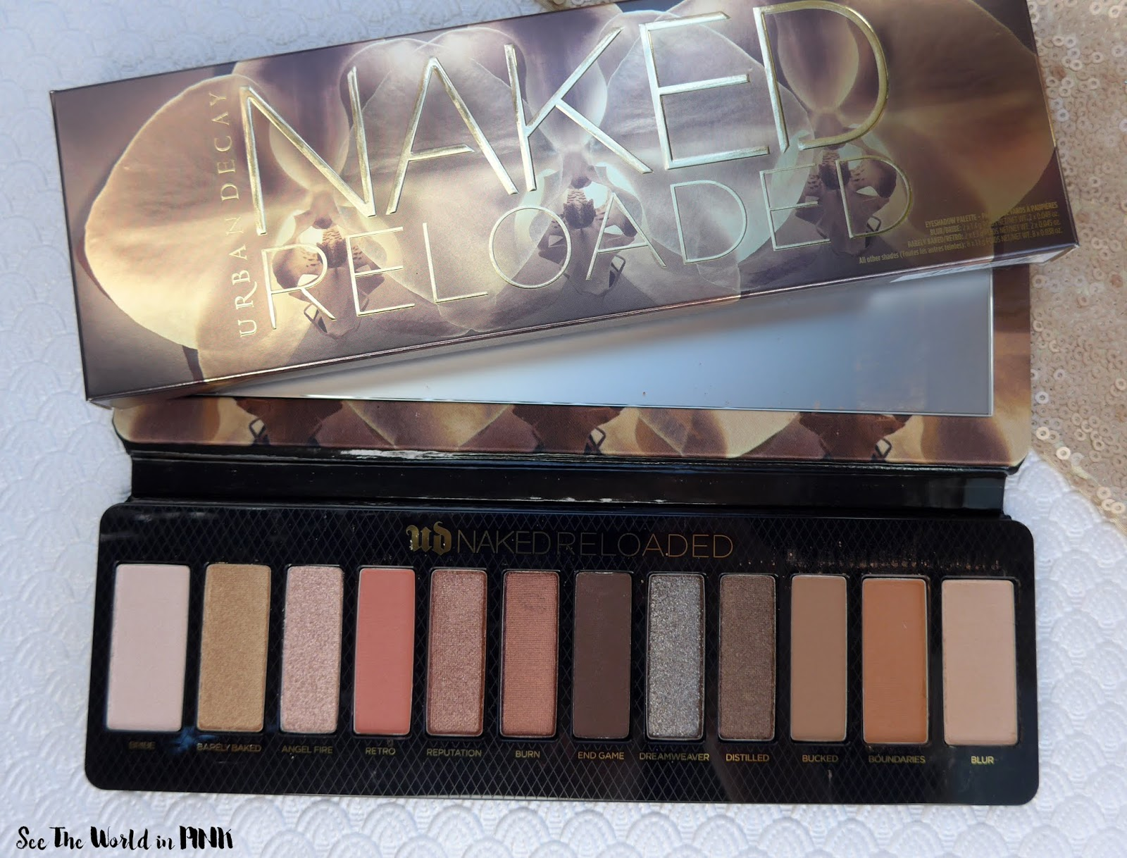 Urban Decay Naked Reloaded Palette - Swatches, Look and Thoughts!