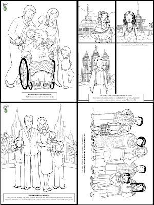 RobbyGurl's Creations: The Friend Magazine Mini Coloring Book