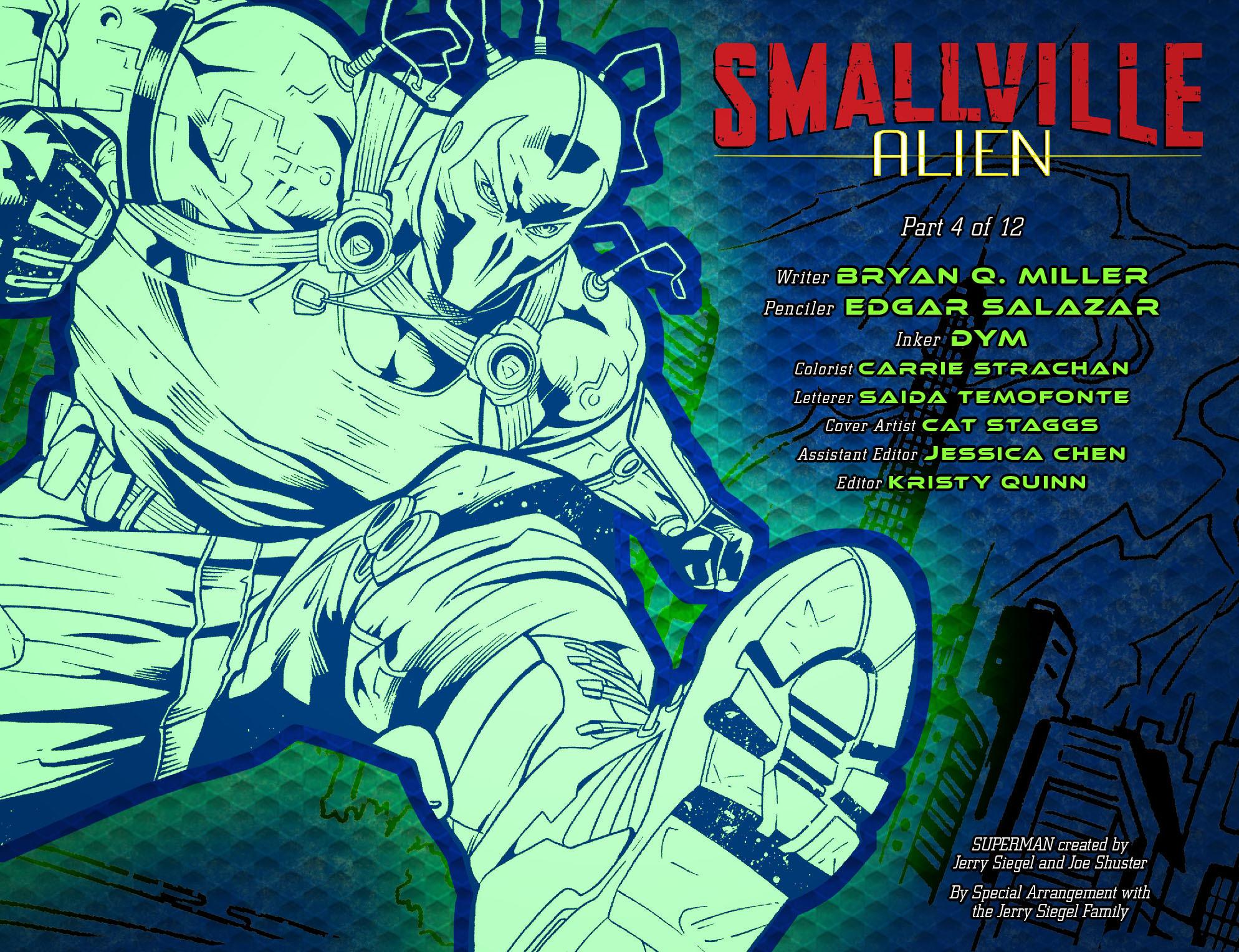 Read online Smallville: Alien comic -  Issue #4 - 2
