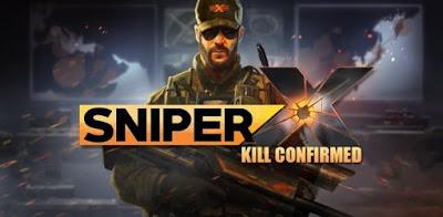 SNIPER X KILL CONFIRMED Mod Apk v1.7.1 Unlimited Gold/One Hit Kill Terbaru