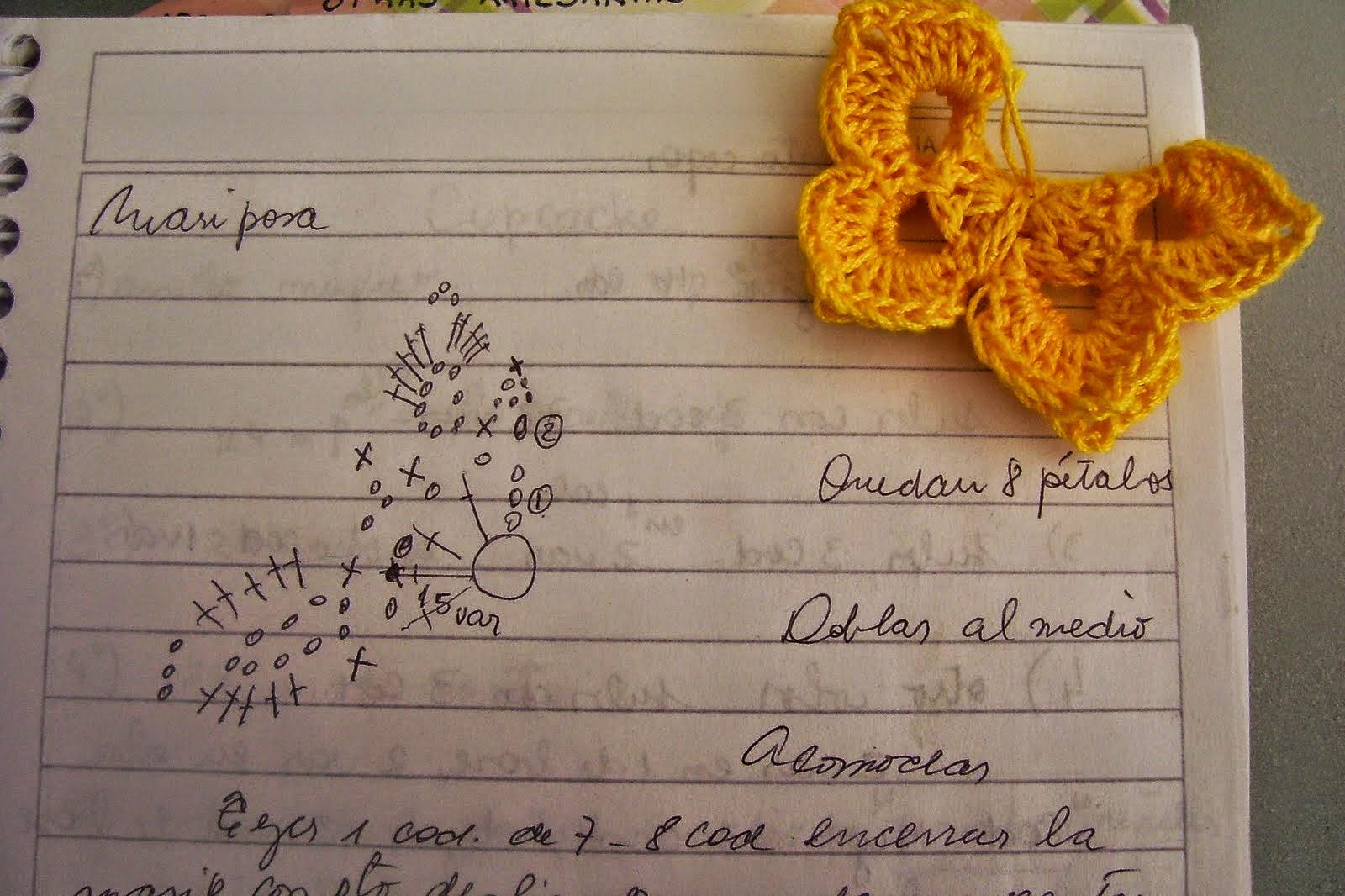 Flores y mariposas para decorar tu cabello - con patrones