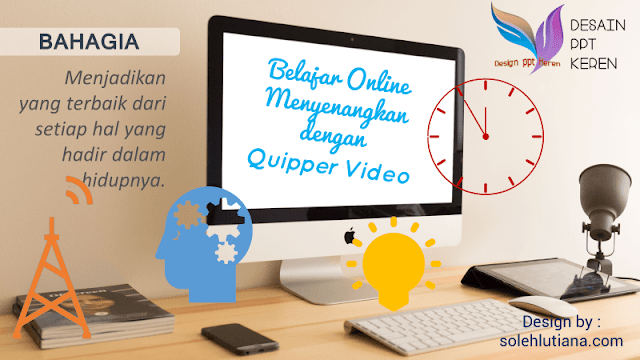 Bimbingan Belajar Online Quipper Video