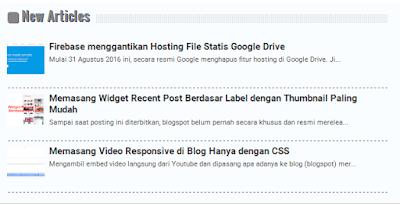 widget blogging