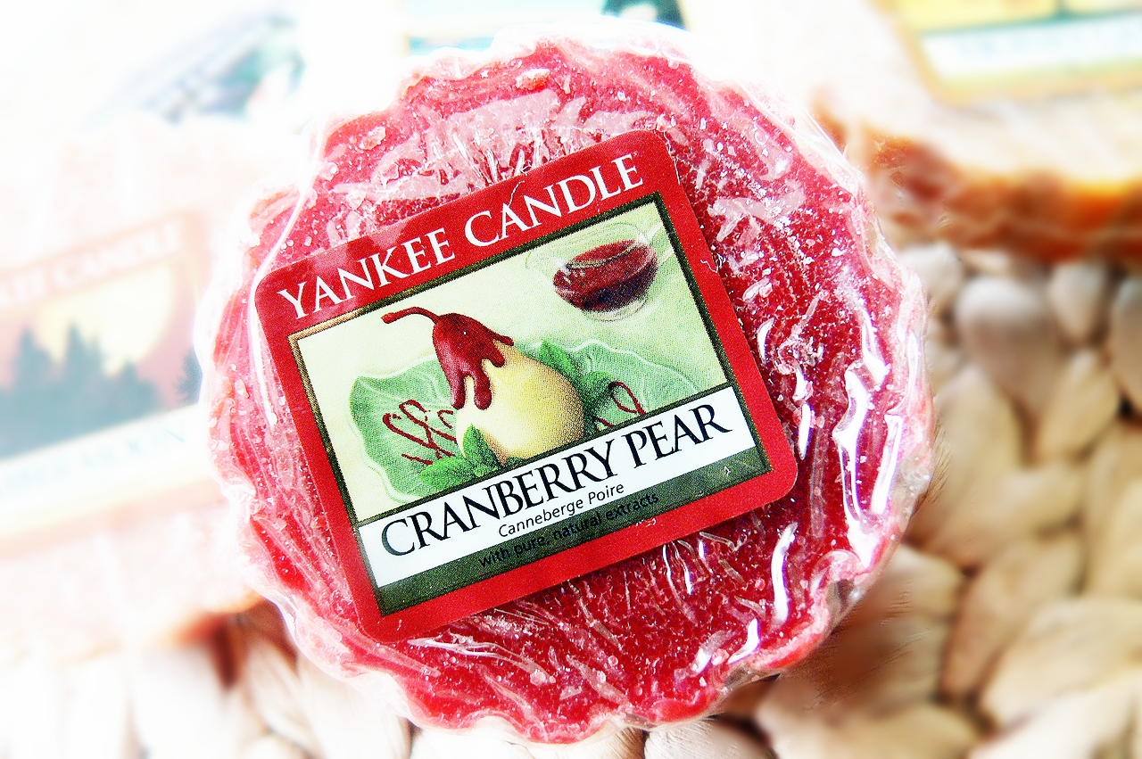 Yankee Candle,  Cranberry Pear