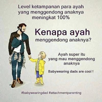 Manfaat Menggendong Anak Bagi Para Ayah - Blog Mas Hendra