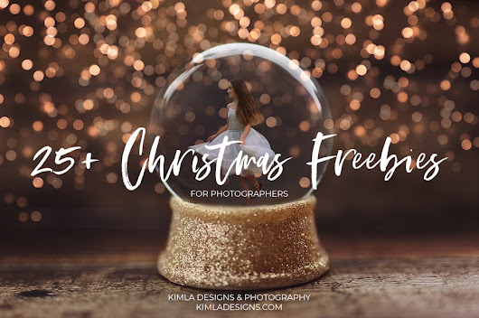 25+ Christmas Freebies for Photographers